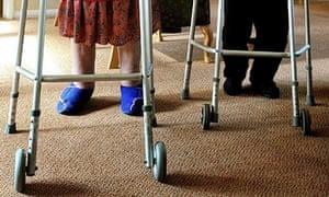Eldery ladies care home