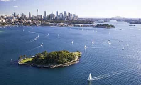 Sydney City and Harbour Bridge