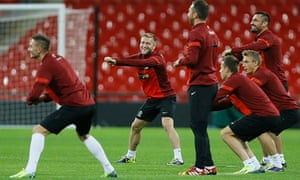 Polish football team Wembley