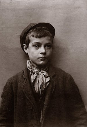 Spitalfields nippers: A young boy with cap