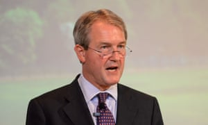 "Environment secretary Owen Paterson who has hit out at ""wicked"" opponents of genetically modified crops."