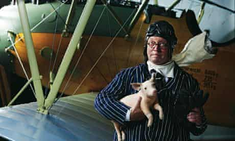 Fergus Henderson at the Royal Air Force Museum, London NW9.