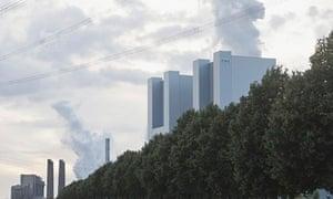Power plant in Grevenbroich, Germany