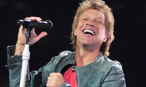 Jon Bon Jovi in concert in Los Angeles
