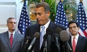 John Boehner shutdown