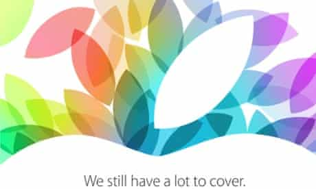 Apple iPad 5 event scheduled for 22 October.