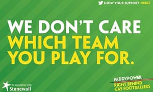 Paddy power/ Stonewall campaign