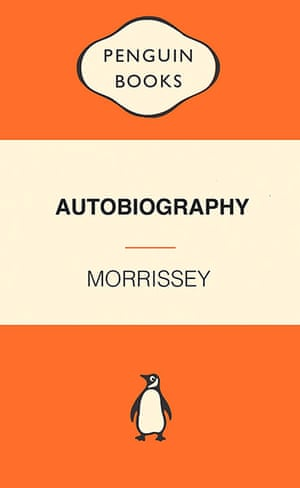 GuardianWitness Morrissey: Morrissey autobiography design by OneWillieMiller