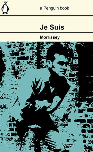 GuardianWitness Morrissey: Morrissey autobiography design by DavidWickes