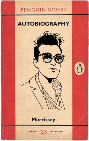 Morrissey Autobiography design by Marto