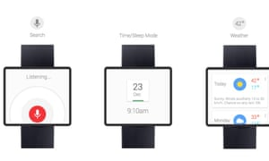 Google Time concept by Adrian Maciburko of how a Google smartwatch could work.