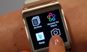 Samsung's Galaxy Gear smartwatch is tied to the Samsung Galaxy Note 3.