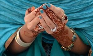 A Pakistani Muslim devotee offers Eid al-Adha prayers at the Badshahi Mosque in Lahore.