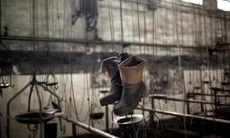 Coal mine boots