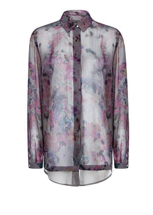 Winter floral: : Winter floral: key fashion trends of the season - in pictures