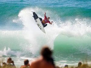 SP World Championship Tour at Supertubos Beach in Peniche, Portugal