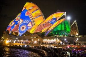 Opera House: Sydney Opera House at the Vivid festival