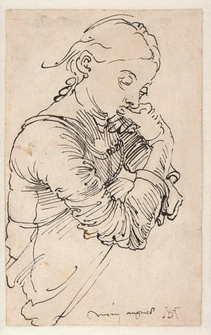 Exhibitionist1910:  The Young Dürer: Drawing The Figure