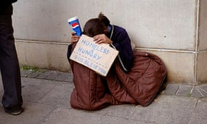 Young person homeless