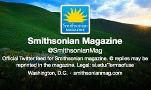 Smithsonian Mag Twitter selfie