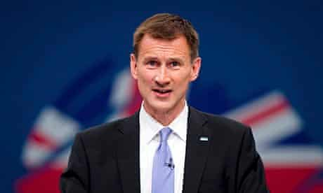 Jeremy Hunt Health Secretary uk families elderly relatives