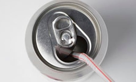 Fizzy drink can