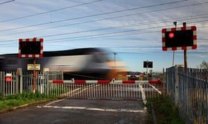 A train passes through Cambridgeshire on the East Coast mainline