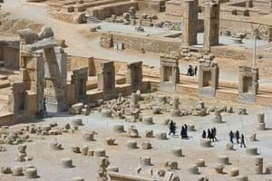 Iran Tourism Push: The ancient persian ruins of Persepolis in Iran