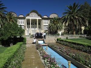 Iran Tourism Push: Eram Garden (Garden of Paradise), Shiraz, Iran