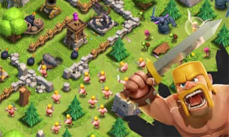 Clash of Clans made the most money on iOS this year.