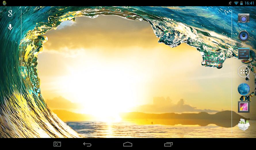 Argos MyTablet review - screenshot button.