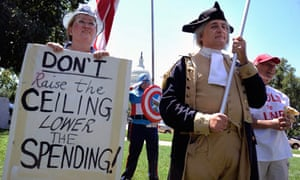 Tea Party debt protest