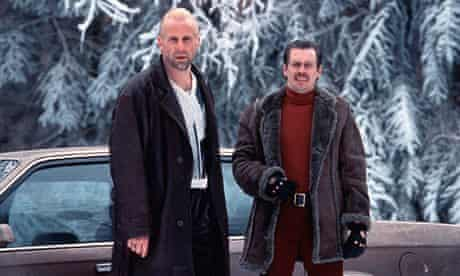 Buscemi in Fargo with Peter Stormare (1996).
