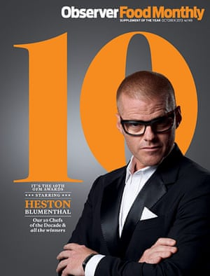 ofm: Heston Blumenthal ofm cover