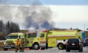 Gainford train fire