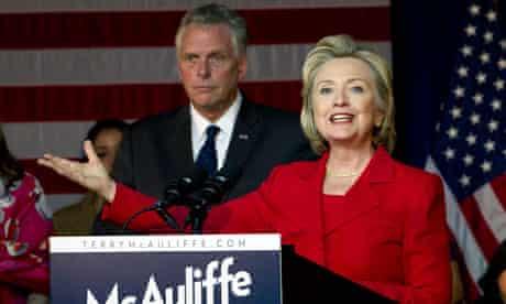 Terry McAuliffe, Hillary Rodham Clinton