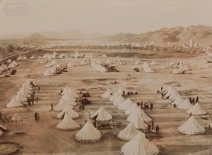 Historic Mecca: Picture of the Tents of the Turks