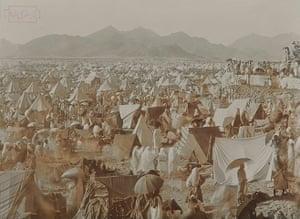 Historic Mecca: Picture of Mount Arafat