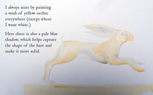 How to draw a hare: