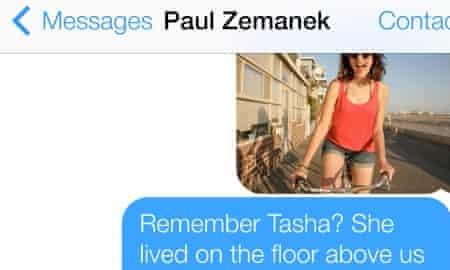 iMessage on Apple's iOS 7