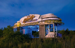 Nightwatch: Carney's Corny Dogs. Abandoned hot dog stand in Shreveport, Louisiana. May