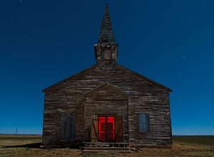 Nightwatch: Abandoned church in Cee Vee, Texas. January 2009