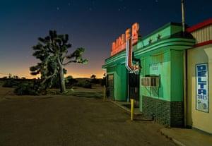 Nightwatch: Diner movie set in Lake Los Angeles, California, June 2011