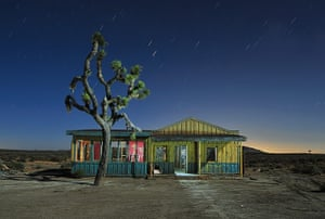 Nightwatch: Roadhouse abandoned movie set in El Mirage, California. June 2011