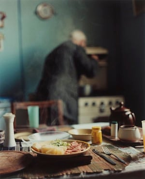Julian Germain's photo of Charlie in the kitchen