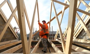 A slowdown in house building is partly behind the slowing growth in construction output