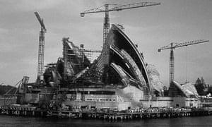 Sydney Opera House: under construction