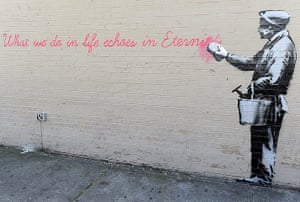 Banksy in New York City: Queens, New York