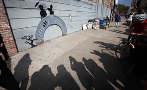 Banksy in New York City: Brooklyn, New York