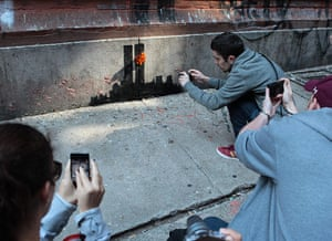 Banksy in New York City: Tribeca, New York
